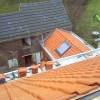 Beersel – Charpente de 2 toitures avec cheminée, nouvelle corniche, velux et zingage…